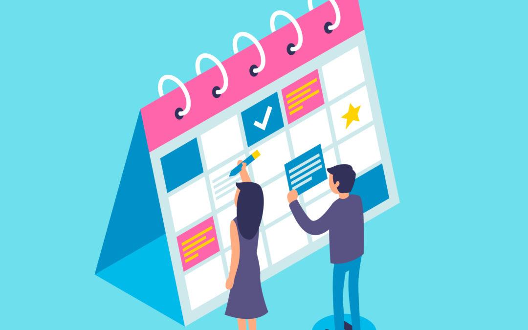 Planning des cours CAP esthétique pour 2018-2019
